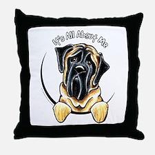 Mastiff IAAM Throw Pillow