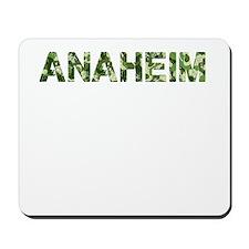 Anaheim, Vintage Camo, Mousepad