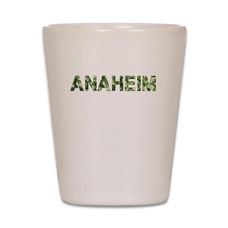 Anaheim, Vintage Camo, Shot Glass