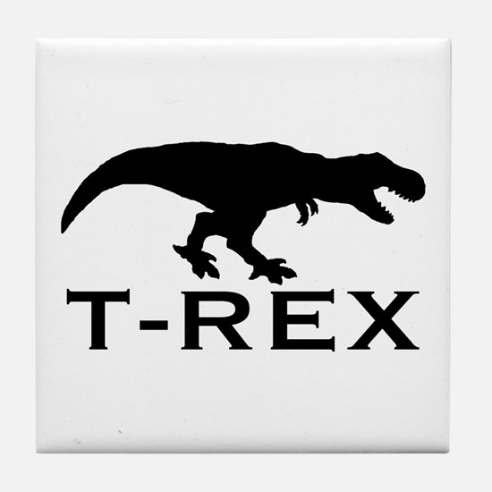 T Rex Tile Coaster