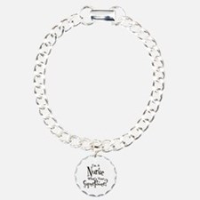 Super Nurse Charm Bracelet, One Charm