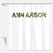 Ann Arbor, Vintage Camo, Shower Curtain