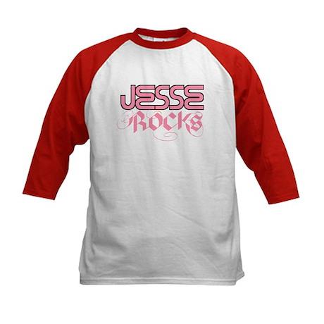 Jesse Rocks Kids Baseball Jersey