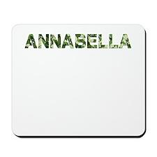 Annabella, Vintage Camo, Mousepad