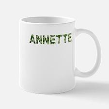 Annette, Vintage Camo, Mug