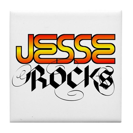 Jesse Rocks Tile Coaster