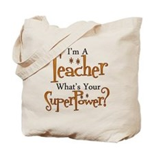 Unique Teacher Tote Bag