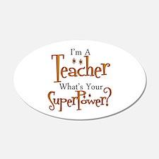 Super Teacher Wall Decal