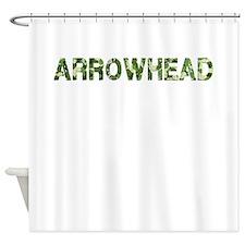 Arrowhead, Vintage Camo, Shower Curtain