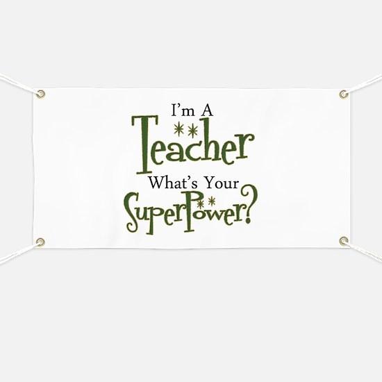 Super Teacher Banner
