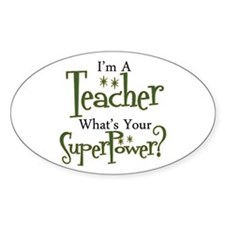 Super Teacher Stickers