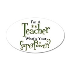 Super Teacher Wall Decal