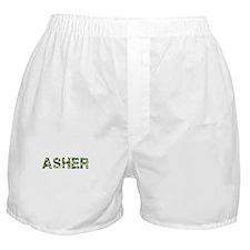 Asher, Vintage Camo, Boxer Shorts