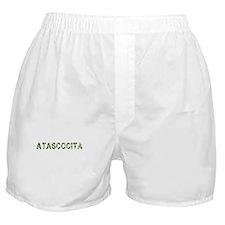 Atascocita, Vintage Camo, Boxer Shorts
