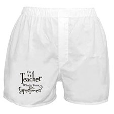 Cute Kindergarten Boxer Shorts