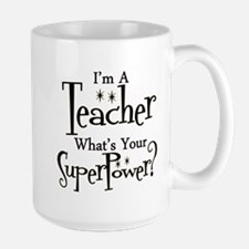 Super Teacher Large Mug