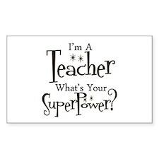 Unique Kindergarten teacher Decal