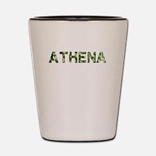 Athena, Vintage Camo, Shot Glass