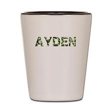 Ayden, Vintage Camo, Shot Glass