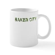 Baker City, Vintage Camo, Mug