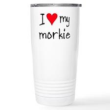 Cute Morkie Travel Mug