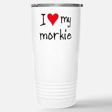 Cute Maltese mix Travel Mug