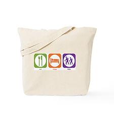 Eat Sleep Hike Tote Bag