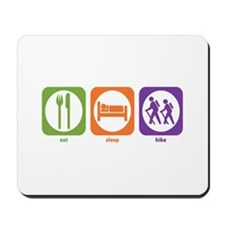 Eat Sleep Hike Mousepad