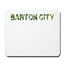 Barton City, Vintage Camo, Mousepad