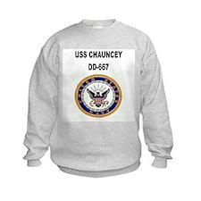 USS CHAUNCEY Sweatshirt