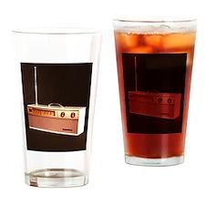 Radio Drinking Glass