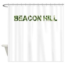 Beacon Hill, Vintage Camo, Shower Curtain