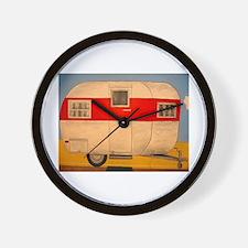 Camper Ham Wall Clock