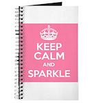 Keep Calm and Sparkle Journal