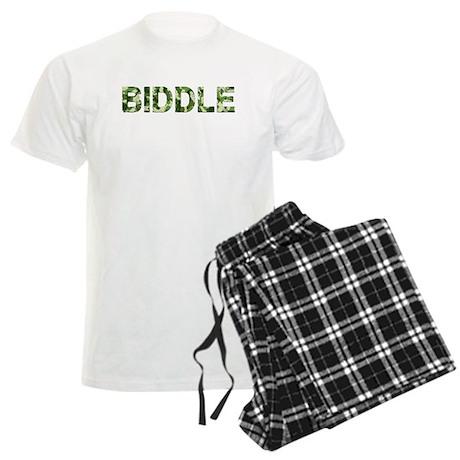 Biddle, Vintage Camo, Men's Light Pajamas