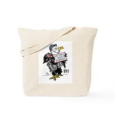 Remember 911 Eagle Tote Bag