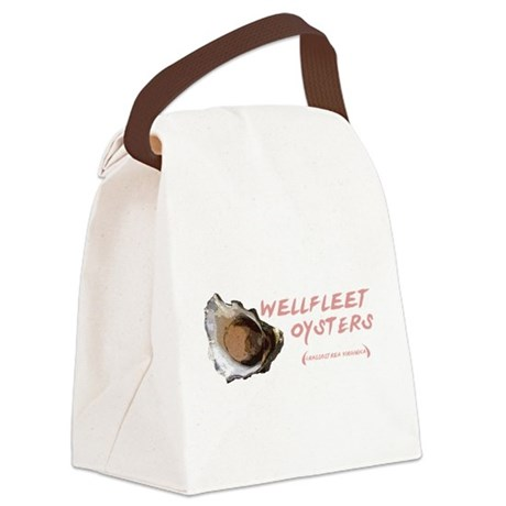 Wellfleet Oysters Canvas Lunch Bag