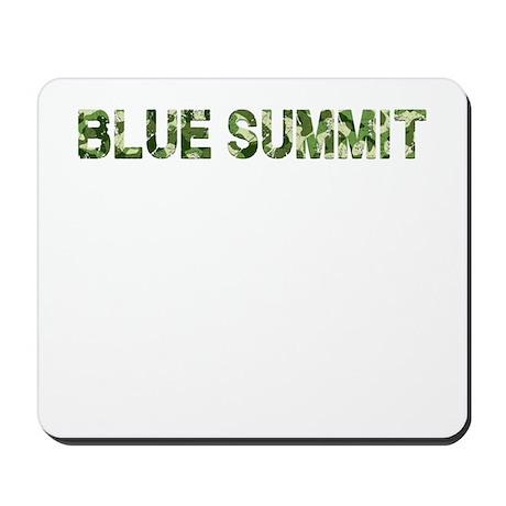 Blue Summit, Vintage Camo, Mousepad