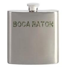 Boca Raton, Vintage Camo, Flask