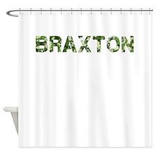 Braxton, Vintage Camo, Shower Curtain