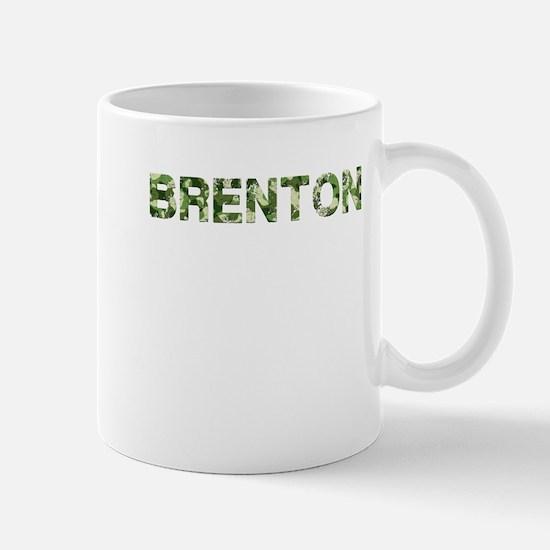 Brenton, Vintage Camo, Mug