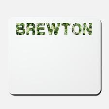 Brewton, Vintage Camo, Mousepad