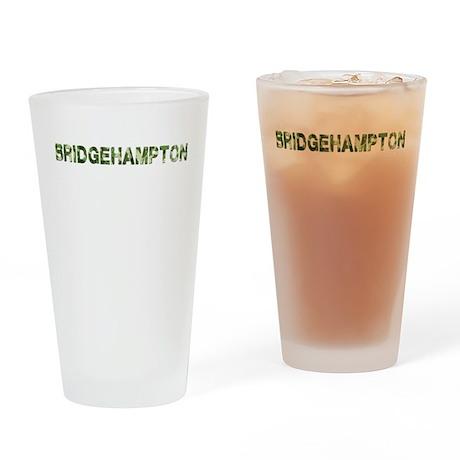 Bridgehampton, Vintage Camo, Drinking Glass