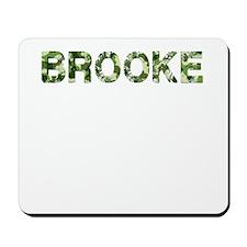 Brooke, Vintage Camo, Mousepad