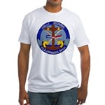USS COGSWELL Fitted T-Shirt