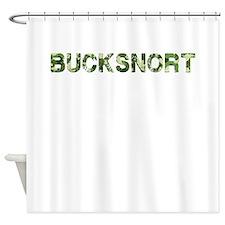 Bucksnort, Vintage Camo, Shower Curtain