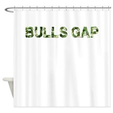 Bulls Gap, Vintage Camo, Shower Curtain