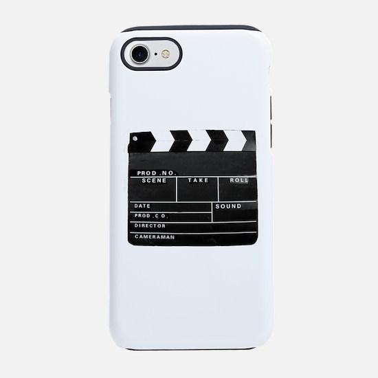 Movie Video production Clapper iPhone 7 Tough Case