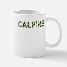 Calpine, Vintage Camo, Mug