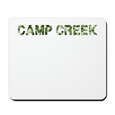 Camp Creek, Vintage Camo, Mousepad